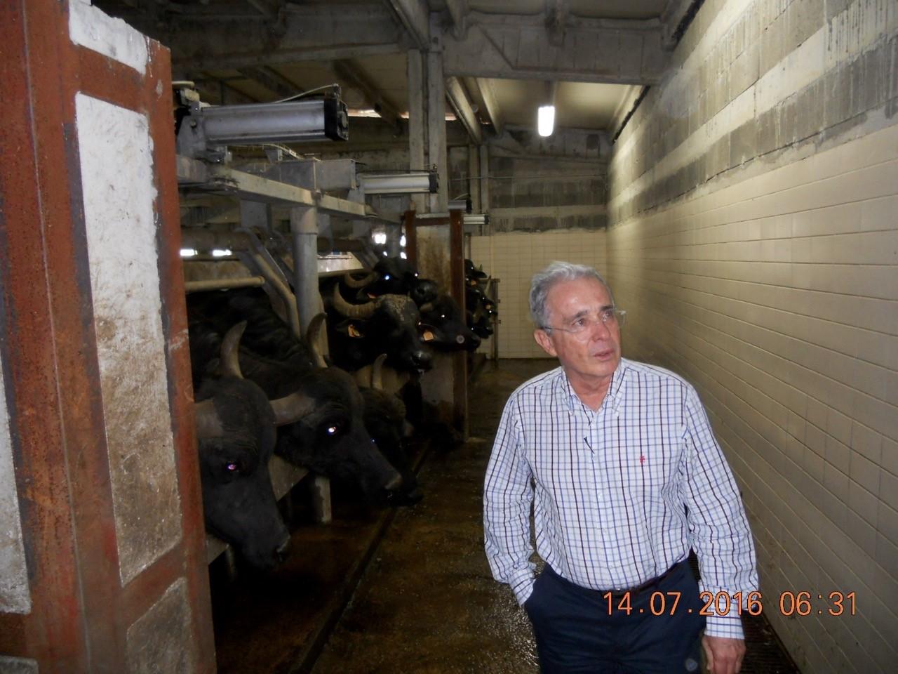 Visita ex presidente della Colombia in Maremma