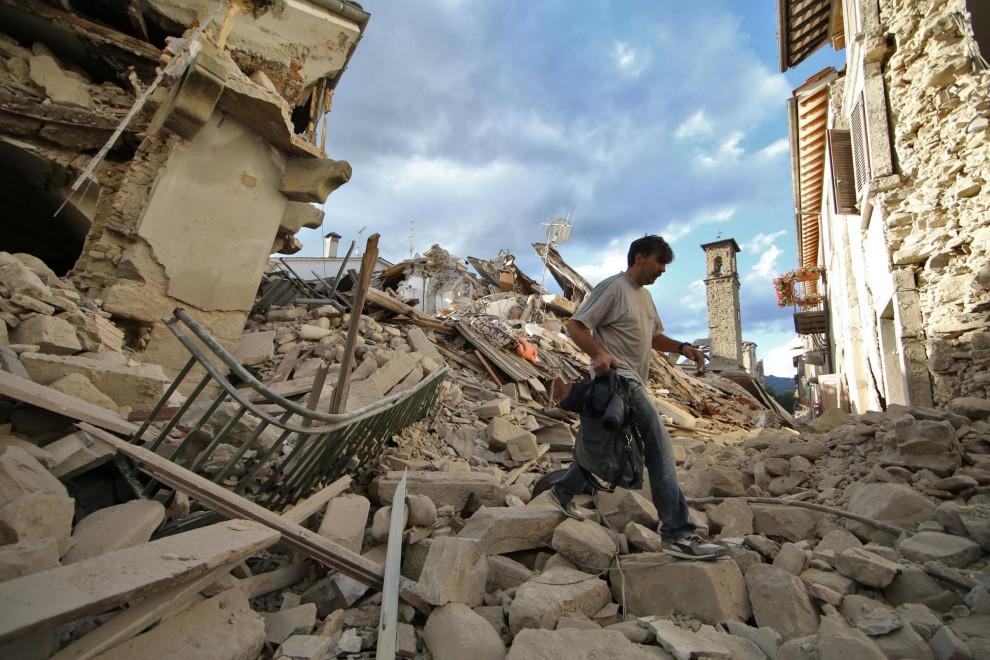 Lettera ai soci per il terremoto